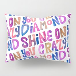 Shine On Your Crazy Diamond – Vintage Palette Pillow Sham