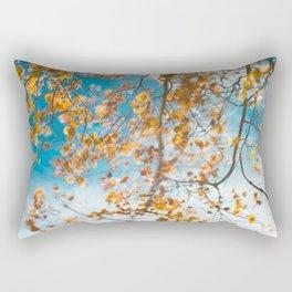 Autumn In Motion Rectangular Pillow