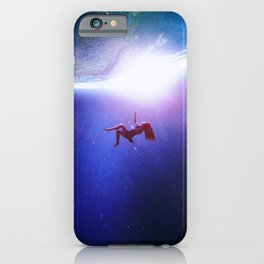 The Gravitational Attraction iPhone Case