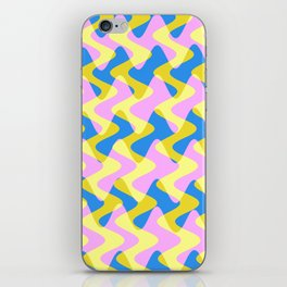 Crosswave Pink - Electron Series 003 iPhone Skin