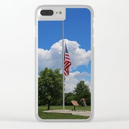 Army Lodge No. 24- II Clear iPhone Case