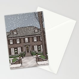 Home Alone Christmas Stationery Cards