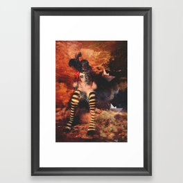 Eaux Trouble Framed Art Print