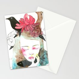 Æquinoctium - First Day of Spring by Ong Ngoc Phuong Stationery Cards