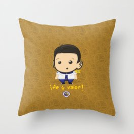 Aventurero Throw Pillow