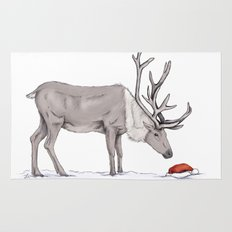 Christmas reindeer Rug