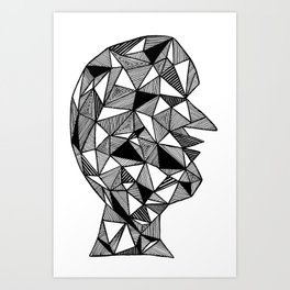 Dark Thoughts Art Print