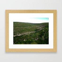Long and Winding Road Framed Art Print