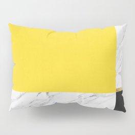 Gold collage XVII Pillow Sham