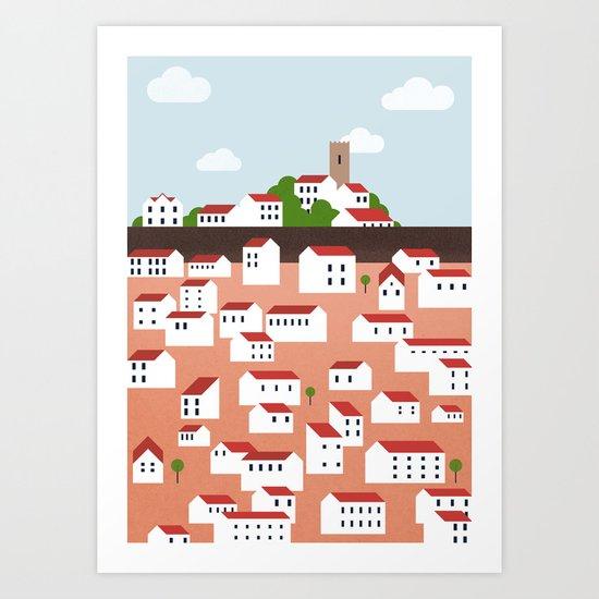 Green Istria Art Print