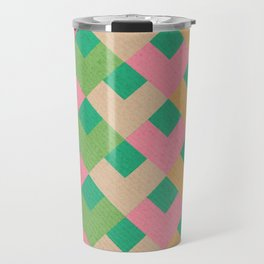 Rainbow Thatch Travel Mug