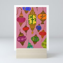 Istanbul lamps Mini Art Print