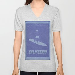 Retrogaming - California games Unisex V-Neck