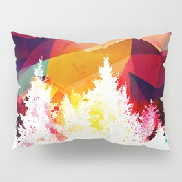 Forest made of color Pillow Sham