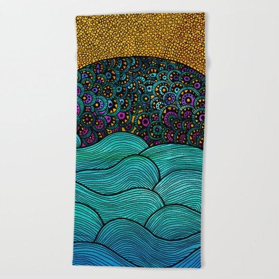 Oceania Beach Towel