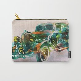 Vintage Car in watercolor Carry-All Pouch