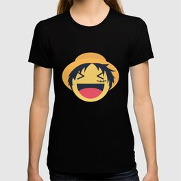 Monkey D. Luffy Emoji Design T-shirt