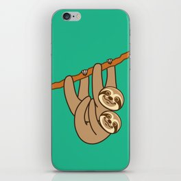 Cute Sloths!! iPhone Skin