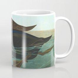 Scoter Duck Vintage Scientific Bird & Botanical Illustration Coffee Mug