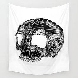 Skull - I Wall Tapestry