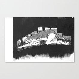 Series 1: Creep Fox Canvas Print
