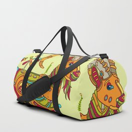 Ibex, cool wall art for kids and adults alike Duffle Bag