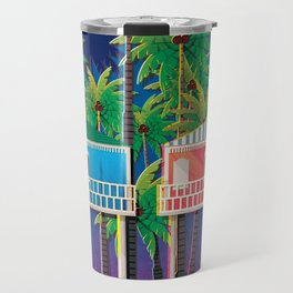 Palolem Beach Huts Travel Mug