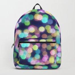 Coloured Bokeh Backpack