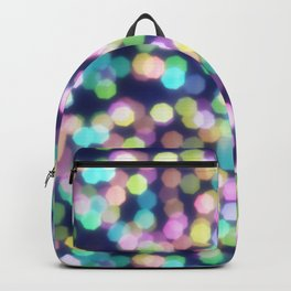 Coloured Bokeh Backpack