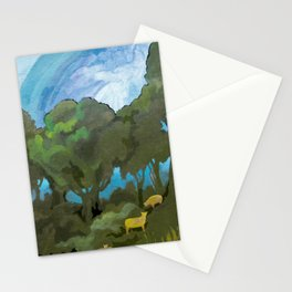 Brewing Storm With Sheep Stationery Cards