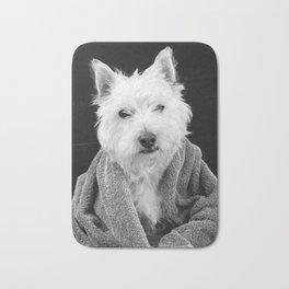 I hate Mondays Westie Dog Bath Mat