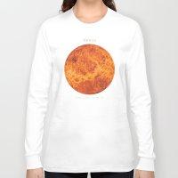 venus Long Sleeve T-shirts featuring Venus by Terry Fan