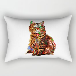 McKenna in the Abstract Rectangular Pillow