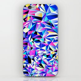 Pink & Blue No. 1 iPhone Skin