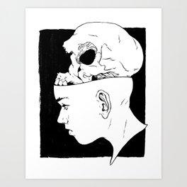 Death Mask - 1 Art Print