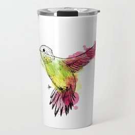 Flying colibri Travel Mug