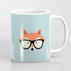 Hipster Red Fox 2 Mug