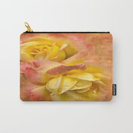 Sunset Peace Rose  Carry-All Pouch