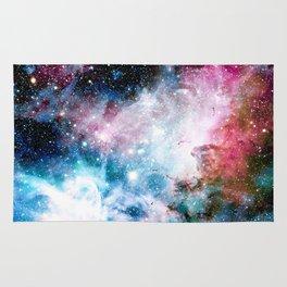 Carina Nebula : Colorful Galaxy Rug