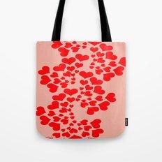 Fractal of Love (Valentine's Day) Tote Bag
