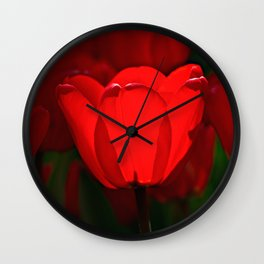 Goblet Of Fire Wall Clock