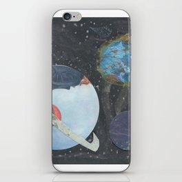 3D Space iPhone Skin