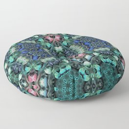 Meteors #5 Floor Pillow