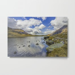 Lake Idwal Metal Print