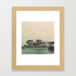 Buckingham Fountain Chicago Framed Art Print