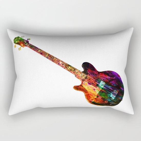 GUITAR MUSIC Rectangular Pillow