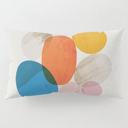 Abstraction_Pebbles_002 Pillow Sham