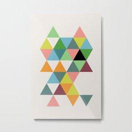 Abstract #579 Metal Print