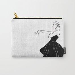 Bettina Graziani Fashion Illustration Carry-All Pouch