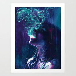 The Ghostmaker Art Print